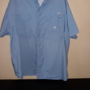 Columbia PFG vented fishing shirt. XXL VEC